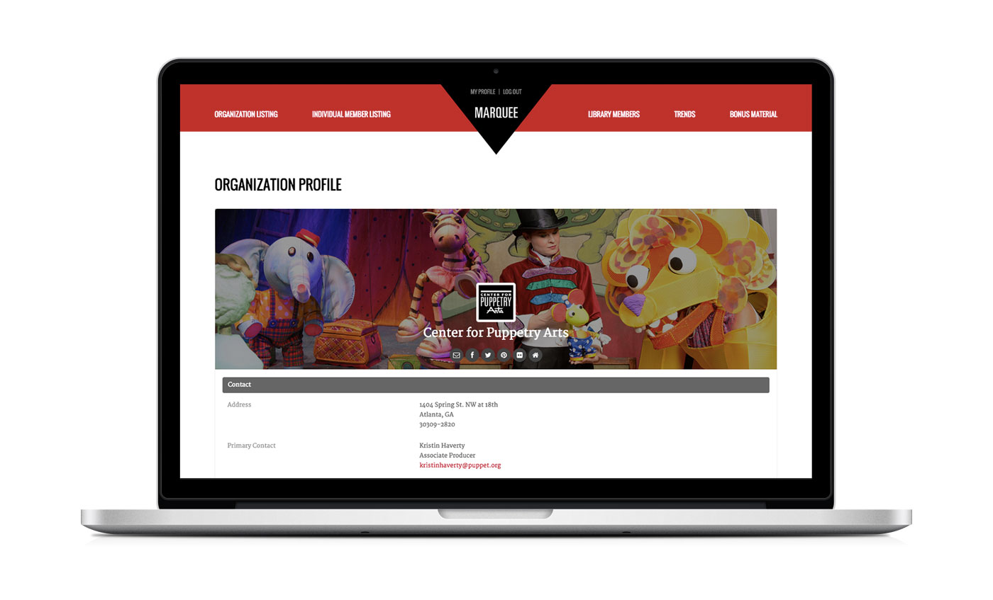 TYA Marquee Website